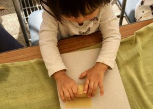 2歳キャンドル作り