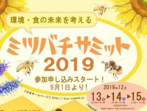 ミツバチサミット2019チラシ