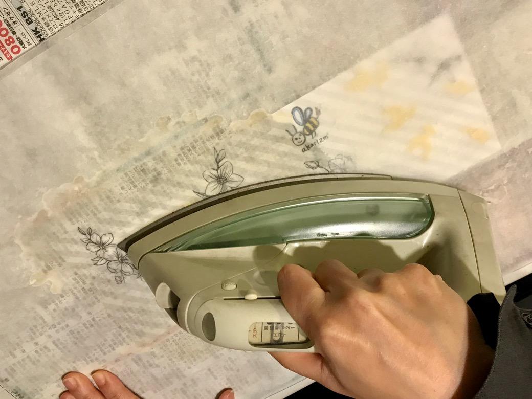 ワックスペーパーの作り方6