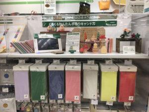 東急ハンズ仙台店ミツロウシートコーナー