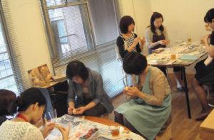 東京恵比寿での手しごとカフェ