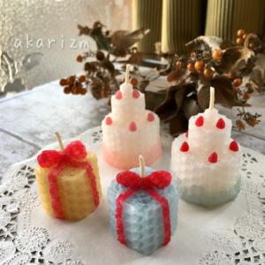 ケーキとプレゼント小
